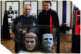 Phil with Shane Bryant and his busts